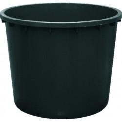Kaca plastična - crna 1000 L